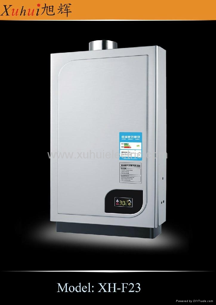 Forced exhaust constant type gas water heater 3