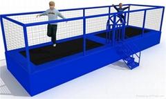 2014新型室內蹦床組合遊樂場