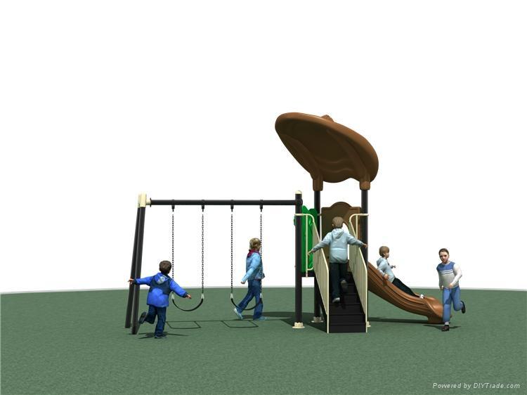 幼儿園戶外小博士組合滑梯 3