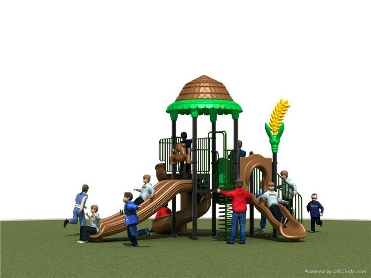 幼儿園戶外小博士組合滑梯 5