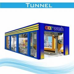 automatic tunnel car washing machinery