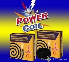 140mm China black mosquito coil