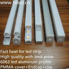 High quality with best price 6063 aluminum led aluminum profile