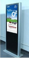 32寸單機版落地式直角廣告機
