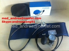 Aneroid Sphygmomanometer with stethoscope