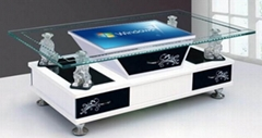 Infrared Multi Interactive Table Touch Screen Coffee Table 6points to 64points