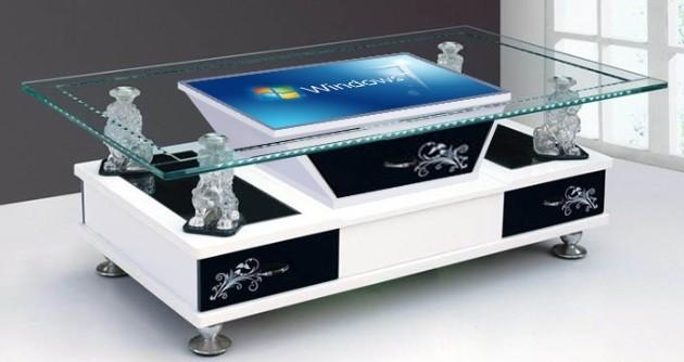 Infrared Multi Interactive Table Touch Screen Coffee Table 6points To  64points ...
