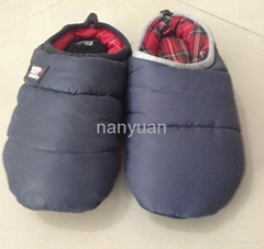 Polyester fabric with polyester filling warmful indoor slipper for women 36-41