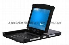 17寸16口LCD KVM多电脑切换器