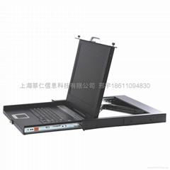 17英吋超短款LCD KVM