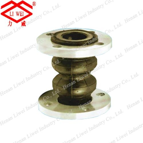 Factory Supply Double-Sphere Flanged Rubber Expansion Joints 1