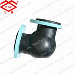 90 Degree Bend Flexible Rubber Elbow