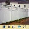 Zhejiang AFOL plastic fences(privacy security fencing design) pvc garden tempora