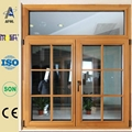 Zhejiang AFOL casement window with blinds 2