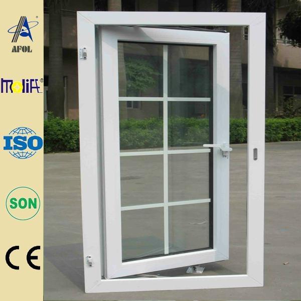 Zhejiang AFOL casement window with blinds 4