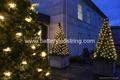 2mx2m 210led warm White LED Net Light for outdoor tree decoration