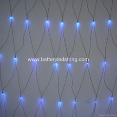 2mx2m 210led outdoor red LED Net Lights for outdoor tree decoration