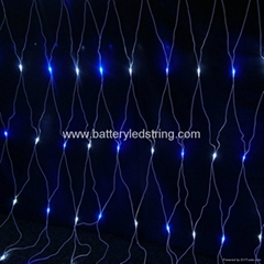 2mx2m 210led outdoor green LED Net Lighting for outdoor tree decoration