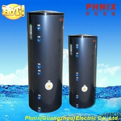 Instant electric solar water tank