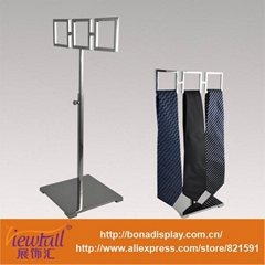 Foshan manufacture metal functional stand necktie display BN-1808