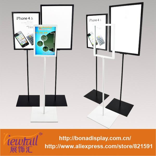 floor standing pop poster board stands display stand sbd