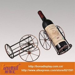 Special metal wine display stand BN-C0005