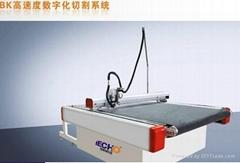 广东纸制品、蜂窝纸展示架裁剪切割机