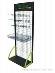 Pop Wire Shoe Shelf Rack Stand Display