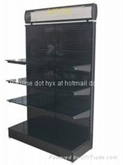 LED Lighting Box Wine Glass Display Rack