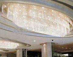 酒店水晶大吊燈
