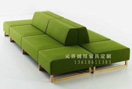 武汉商用组合商用-家具组合沙发系列-武汉元福瑞南康沙发有限公司图片