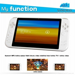 "7"" android 4.0 GP33003 WIFI+HDMI handheld game player"