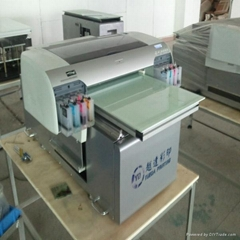 high resolution inkjet flatbed leather printer