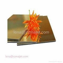 Mirror aluminum composite panels