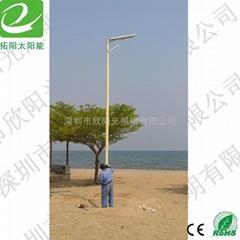 深圳太阳能一体化路灯