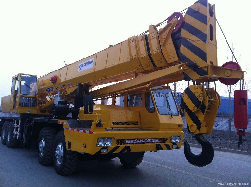 Used 100 Ton Crane Tadano Original Japan in Shanghai 3