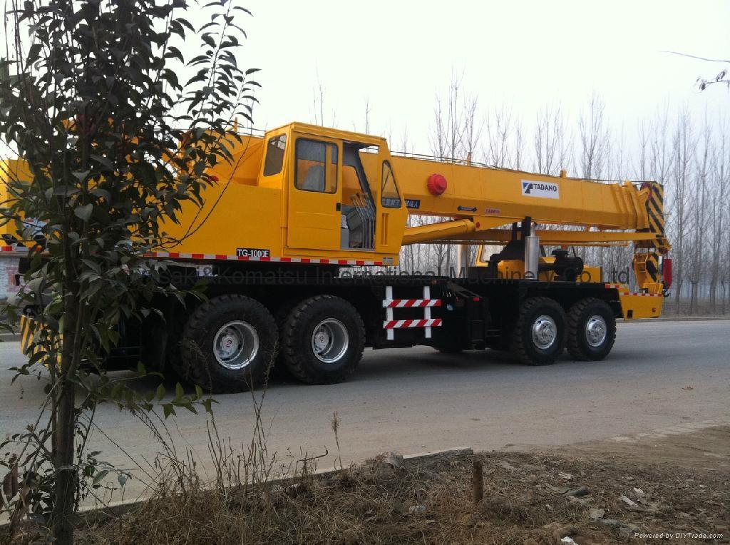 Used 100 Ton Crane Tadano Original Japan in Shanghai 5