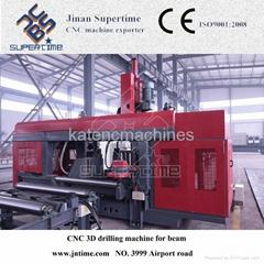 CNC H beam 3D Drilling Machine