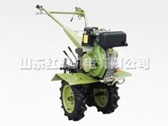 Mini-tiller with 178FS Diesel Engine