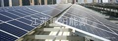 水泥屋顶太阳能光伏支架系统定制