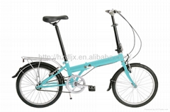 "Simple Design 20 "" Folding Bicycle"