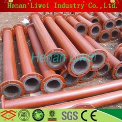 rubber lined pipe fitting