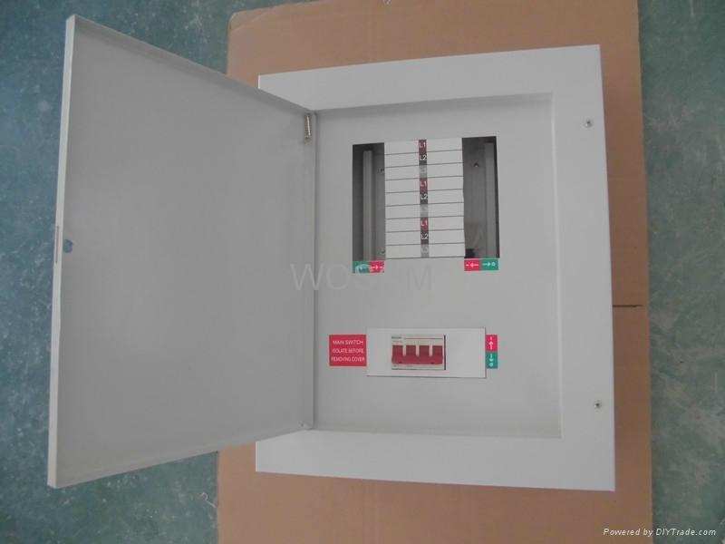 125A Three Phase Metal Distribution Board - WS-NDB - WOSOM (China ...