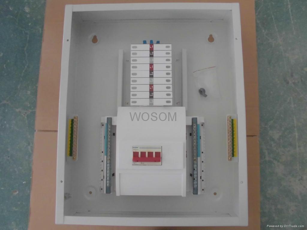 125a Three Phase Metal Distribution Board Ws Ndb Wosom