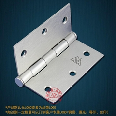3,4,5,6-inch iron hinges