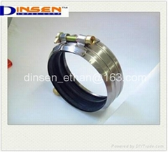 STAINLESS STEEL COUPLING, CAST IRON PIPE COUPLING, NO HUB COUPLING