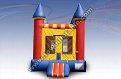 rainbow inflatable bounce houses