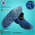 Disposable PE shoe cover, overshoes