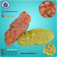 Disposable non woven shoe cover made by machine