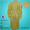 Disposable PP isolation gown 1